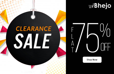 iBhejo com- Flat 75% off Flat 75% off on Clearance Sale at Freecharge